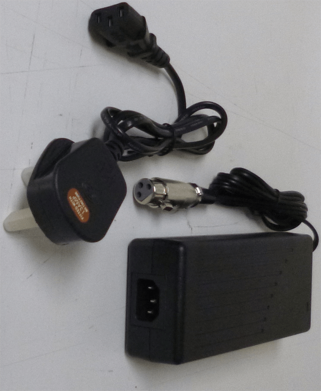 Charger for Cambridge LPX and Oxford LPX Electric Bikes