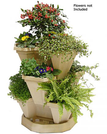 BULK ORDER OF 15 TUBS & 5 TRAYS IN STONE - LARGE (Flowers not included)